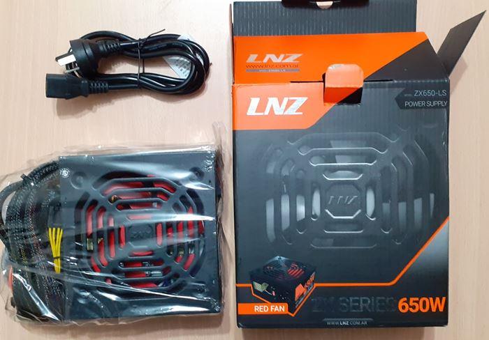 Fuente LNZ 650w Unboxing